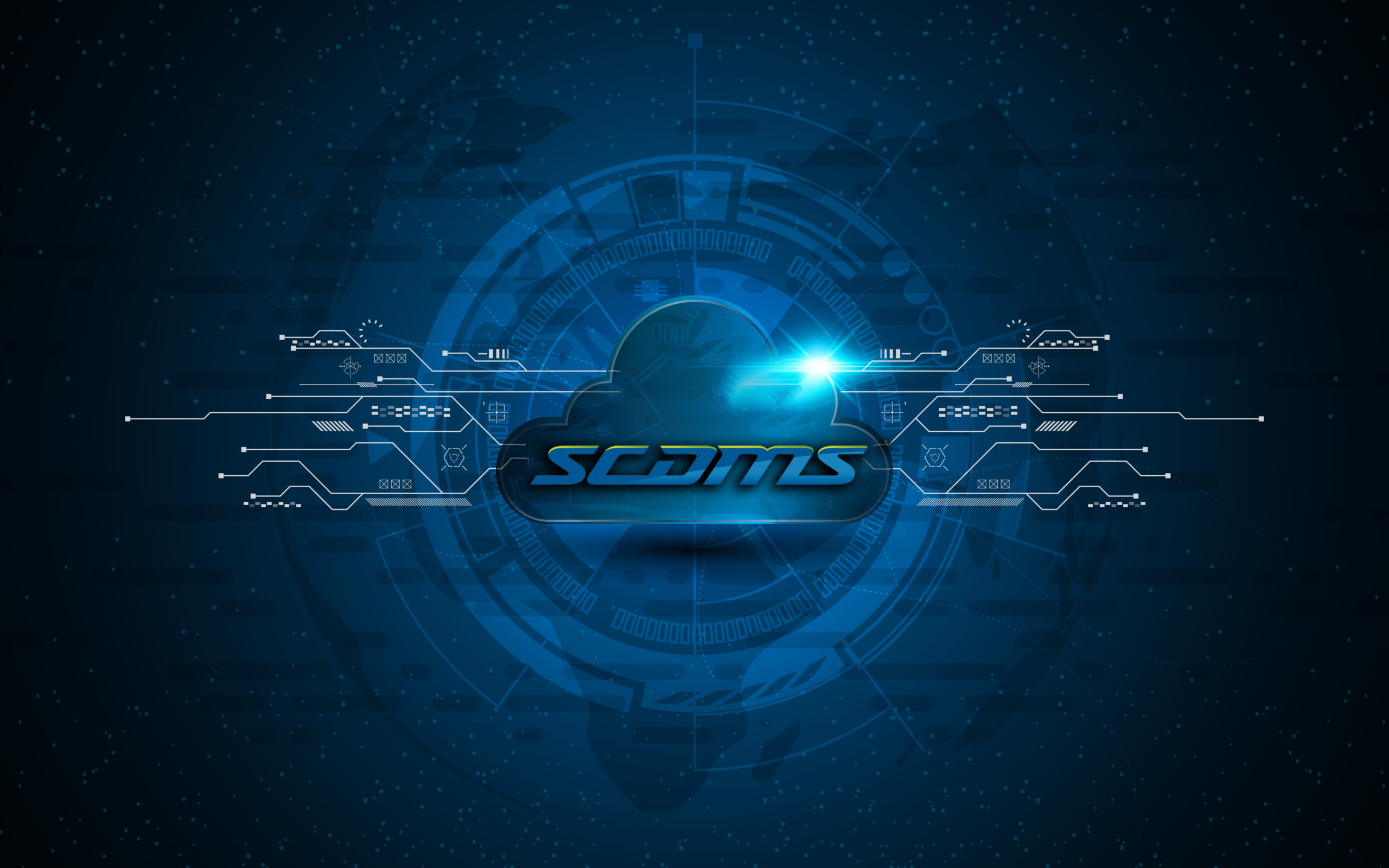 SCDMS Cloud Logo