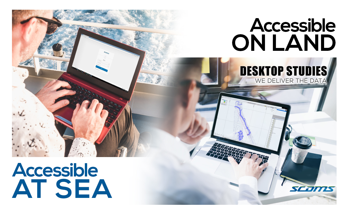 Accessible on land and at sea SCDMS