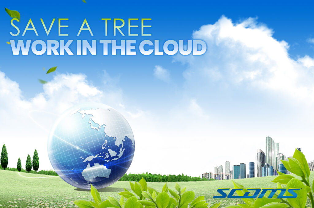 SAVE A TREE work in the cloud